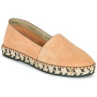 Schuhe Damen Leinen-Pantoletten mit gefloch Betty London MARILA