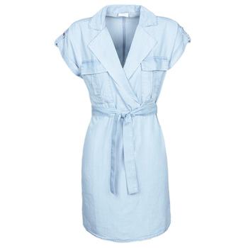 Kleidung Damen Kurze Kleider Noisy May NMVERA Blau / Hell