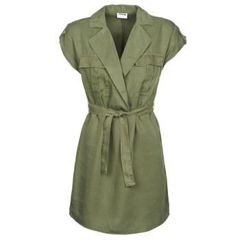 Kleidung Damen Kurze Kleider Noisy May NMVERA Khaki