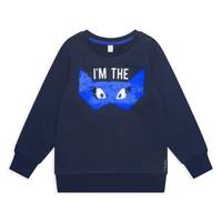 Kleidung Mädchen Sweatshirts Esprit ELONA Marineblau