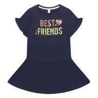 Kleidung Mädchen Kurze Kleider Esprit EDINA Marineblau