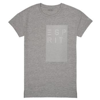 Kleidung Mädchen T-Shirts Esprit EVELYNE Grau