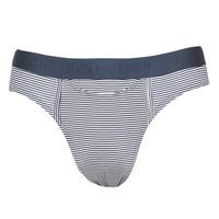 Sous-vêtements Homme Slips Hom SIMON MINI BRIEF Marine / Blanc