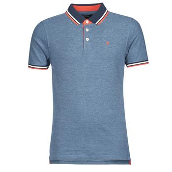 Kleidung Herren Polohemden Jack & Jones JJEPAULOS Blau