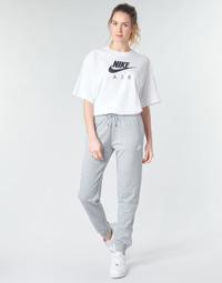 Vêtements Femme Pantalons de survêtement Nike W NSW ESSNTL PANT REG FLC Gris / Blanc