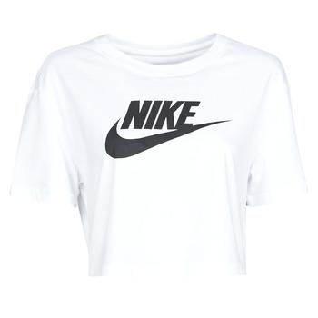 Vêtements Femme T-shirts manches courtes Nike W NSW TEE ESSNTL CRP ICN FTR