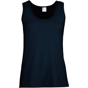 Vêtements Femme Débardeurs / T-shirts sans manche Universal Textiles Fitted Bleu nuit