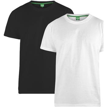 Vêtements Homme T-shirts manches courtes Duke Fenton Noir/ Blanc