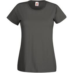 Vêtements Femme T-shirts manches courtes Universal Textiles Casual Graphite