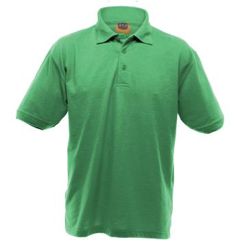 Vêtements Homme Polos manches courtes Ultimate Clothing Collection Pique Vert tendre