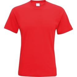 Vêtements Homme T-shirts manches courtes Universal Textiles Casual Rouge vif