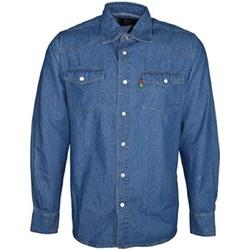 Vêtements Homme Chemises manches longues Duke Western Bleu