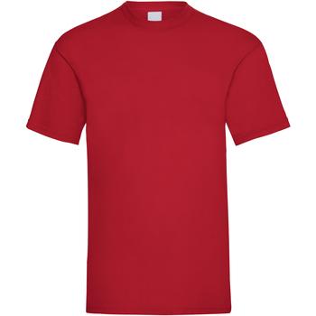 Vêtements Homme T-shirts manches courtes Universal Textiles Casual Rouge foncé