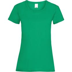 Vêtements Femme T-shirts manches courtes Universal Textiles Casual Vert