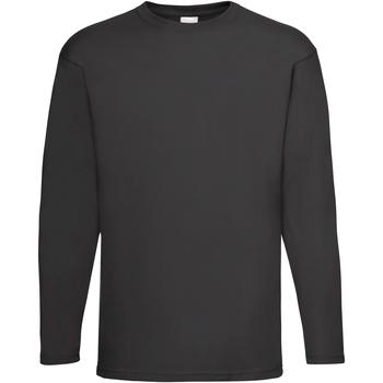 Vêtements Homme T-shirts manches longues Universal Textiles Casual Noir