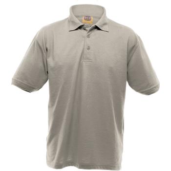 Vêtements Homme Polos manches courtes Ultimate Clothing Collection Pique Gris