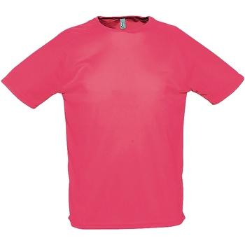 Vêtements Homme T-shirts manches courtes Sols Performance Corail