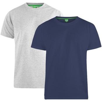 Vêtements Homme T-shirts manches courtes Duke Fenton Bleu marine / gris