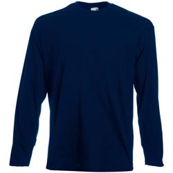 Vêtements Homme T-shirts manches longues Universal Textiles Casual Bleu nuit