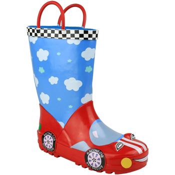 Chaussures Garçon Bottes de pluie Cotswold Puddle Bleu / rouge