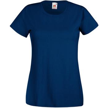 Vêtements Femme T-shirts manches courtes Universal Textiles Casual Bleu airforce