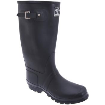 Chaussures Bottes de pluie Woodland Wide Fit Bleu marine