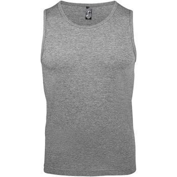 Vêtements Homme Débardeurs / T-shirts sans manche Sols Justin Gris Claire