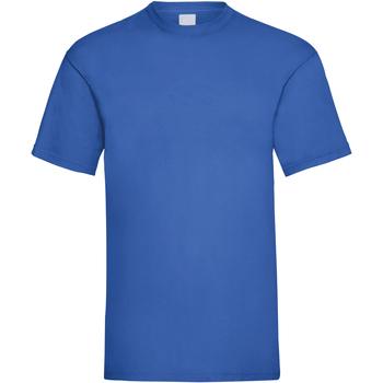 Vêtements Homme T-shirts manches courtes Universal Textiles Casual Cobalt