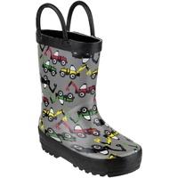 Chaussures Garçon Bottes de pluie Cotswold Puddle Gris / noir