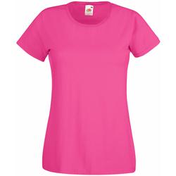 Vêtements Femme T-shirts manches courtes Universal Textiles Casual Rose
