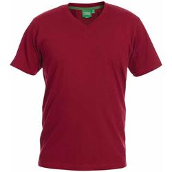Vêtements Homme T-shirts manches courtes Duke Signature-2 Rouge