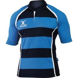 Vêtements Homme T-shirts manches courtes Gilbert Xact Bleu clair/Bleu marine