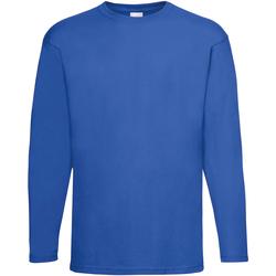Vêtements Homme T-shirts manches longues Universal Textiles Casual Cobalt