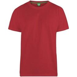 Vêtements Homme T-shirts manches courtes Duke  Rouge