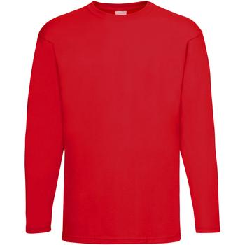 Vêtements Homme T-shirts manches longues Universal Textiles Casual Rouge vif