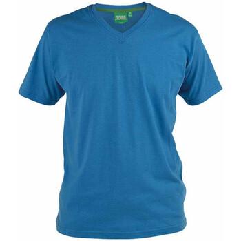 Vêtements Homme T-shirts manches courtes Duke Signature-2 Bleu