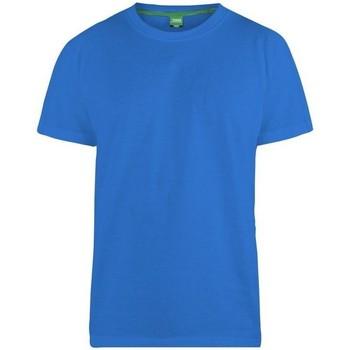 Vêtements Homme T-shirts manches courtes Duke  Bleu