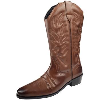 Chaussures Homme Bottes ville Woodland High Clive Marron foncé