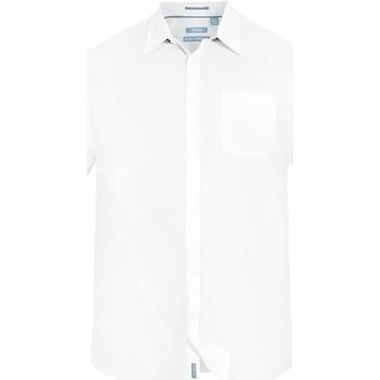 Vêtements Homme Chemises manches courtes Duke Classic Blanc