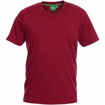Vêtements Homme T-shirts manches courtes Duke Signature Rouge