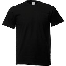 Vêtements Homme T-shirts manches courtes Universal Textiles Casual Noir