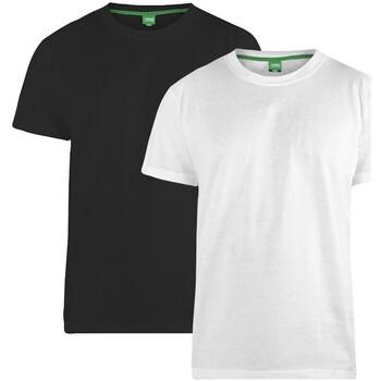 Vêtements Homme T-shirts manches courtes Duke Fenton Noir / blanc