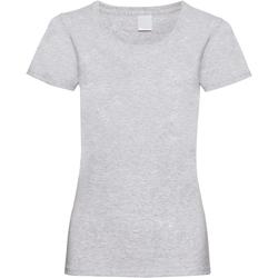 Vêtements Femme T-shirts manches courtes Universal Textiles Casual Gris marne