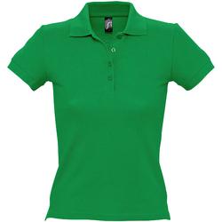 Vêtements Femme Polos manches courtes Sols Pique Vert
