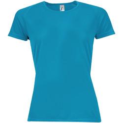 Vêtements Femme T-shirts manches courtes Sols Sporty Eau