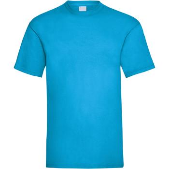 Vêtements Homme T-shirts manches courtes Universal Textiles Casual Cyan