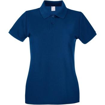 Vêtements Femme Polos manches courtes Universal Textiles Casual Bleu marine
