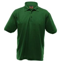 Vêtements Homme Polos manches courtes Ultimate Clothing Collection Pique Vert bouteille