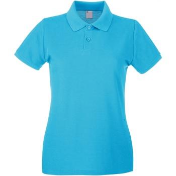 Vêtements Femme Polos manches courtes Universal Textiles Casual Cyan