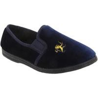 Chaussures Garçon Chaussons bébés Sleepers Gusset Bleu marine